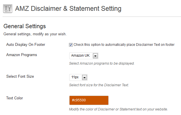 amazon-disclaimer-general-setting