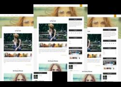 HOLIDAY Gift – Free Responsive WordPress Theme