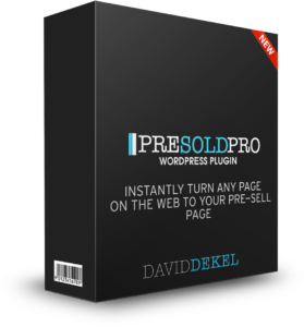 Presold Pro Plugin